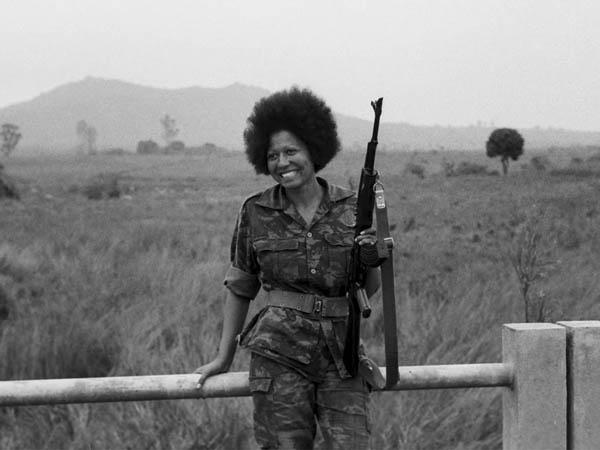 La Comandante Carlota del MPLA