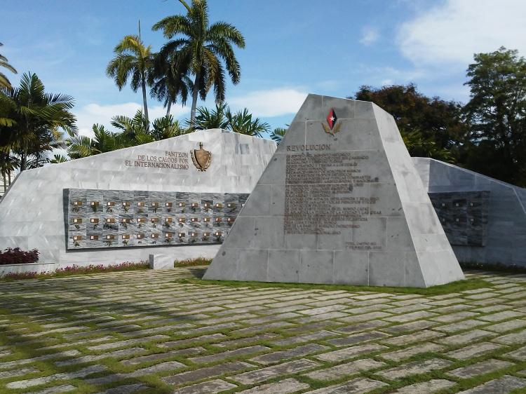Pantón de los Caídos por el Internacionalismo, Santiago de Cuba
