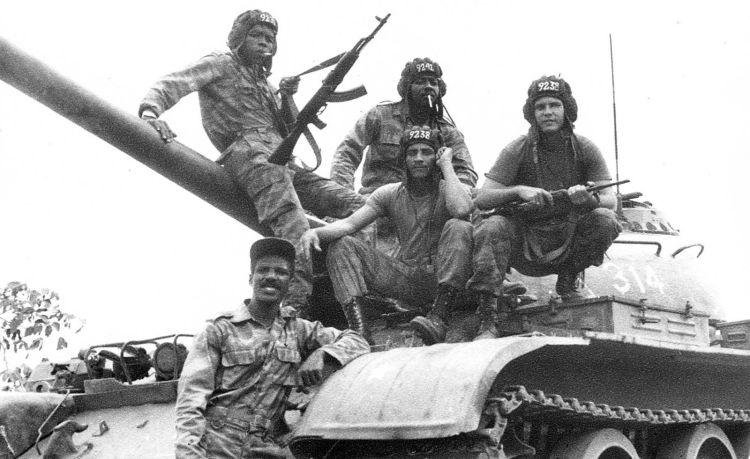 Tropas cubanas en Cuito Cuanavale